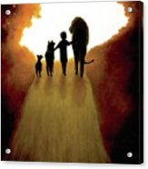 A Little Child Will Lead Them Acrylic Print