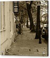 A London Street I Acrylic Print