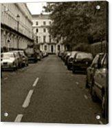 A London Street II Acrylic Print
