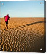 A Long Desert Run Acrylic Print