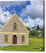 A Lovely Jamaican Church Acrylic Print