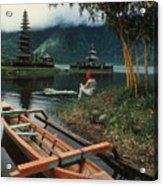 A Magic Moment On The Island Of Bali Acrylic Print