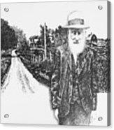 A Man And His Farm Acrylic Print