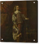 A Man In   Th Century Spanish Costume Acrylic Print
