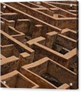 A Maze Life Is A Maze Acrylic Print