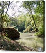 A Medina River Morning Acrylic Print