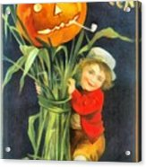 A Merry Halloween Acrylic Print