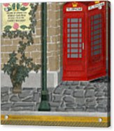 A Merry Old Corner In London Acrylic Print