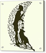 A Midsummer Night's Dream, Silhouette  Acrylic Print