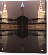 A Mirror Image Reflection Acrylic Print