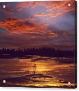 A Moment Of Reflection Acrylic Print