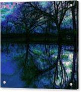 A Monet Kinda Day Acrylic Print