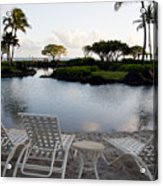 A Morning In Kauai Hawaii Acrylic Print by Susan Stone