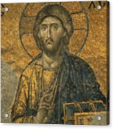 A Mosaic Of Jesus The Christ At St Acrylic Print