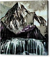 A Mountain To Think About Acrylic Print