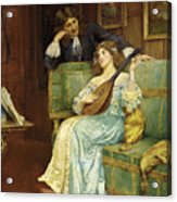 A Musical Interlude Acrylic Print