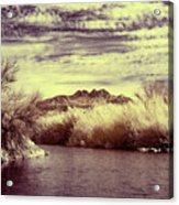 A Mystical River View Acrylic Print