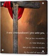 A New Commandment  Acrylic Print