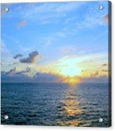 A New Dawn At Sea Acrylic Print