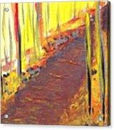 A New Fall Path Acrylic Print