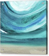 A New Start Wide- Art By Linda Woods Acrylic Print