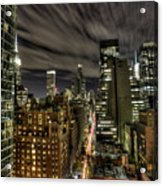 A New York City Night Acrylic Print