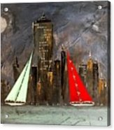 A New York Sail Acrylic Print