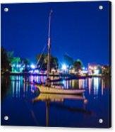 A Night At The Lake Acrylic Print