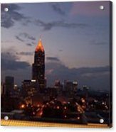A Night In Atlanta Acrylic Print