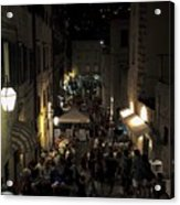 A Night In Dubrovnik Acrylic Print