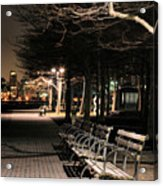 A Night In Hoboken Acrylic Print by JC Findley