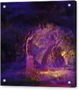 A Night Of Weeping In The Garden Gethsemane Israel 2008 Acrylic Print