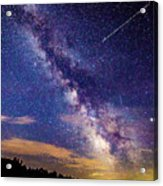 A Northern View Of The Milky Way Acrylic Print