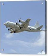 A P-3c Orion Aircraft Takes Acrylic Print