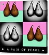 A Pair Of Pears Acrylic Print