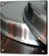 A Pair Of Steel Plates Acrylic Print