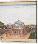 A Panoramic View Of Alwar Acrylic Print