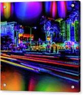 A Parallel Las Vegas Acrylic Print