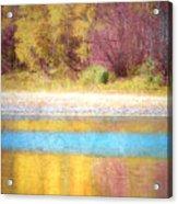 A Pastel Autumn Acrylic Print