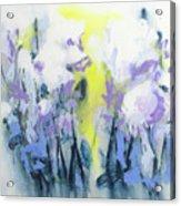 A Patch Of Purple Acrylic Print
