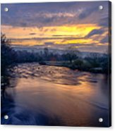 A Peaceful Morning Acrylic Print