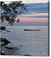 A Peaceful Sunset Acrylic Print