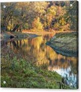 A Peak At Autumn Acrylic Print