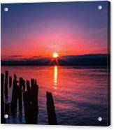 A Pend Oreillle Sunrise Acrylic Print