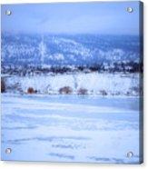 A Penticton Winter Acrylic Print