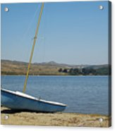 A Perfect Day For Sailing Acrylic Print