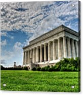 A Perfect Day In Washington Acrylic Print