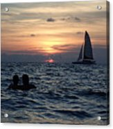 A Perfect Days End Acrylic Print