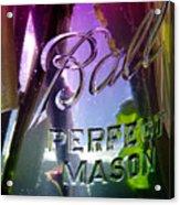A Perfect Mason... Acrylic Print