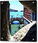 A Piece Of Venice Acrylic Print